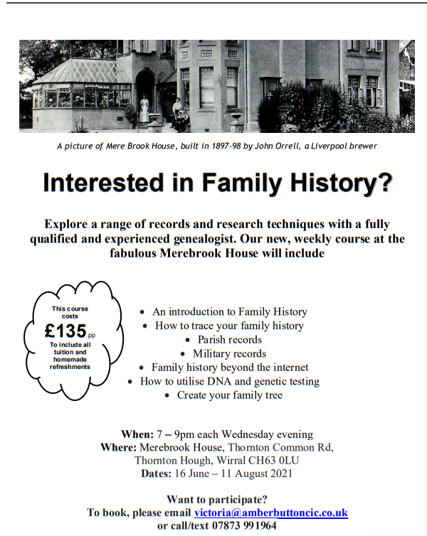 history course mere brook house